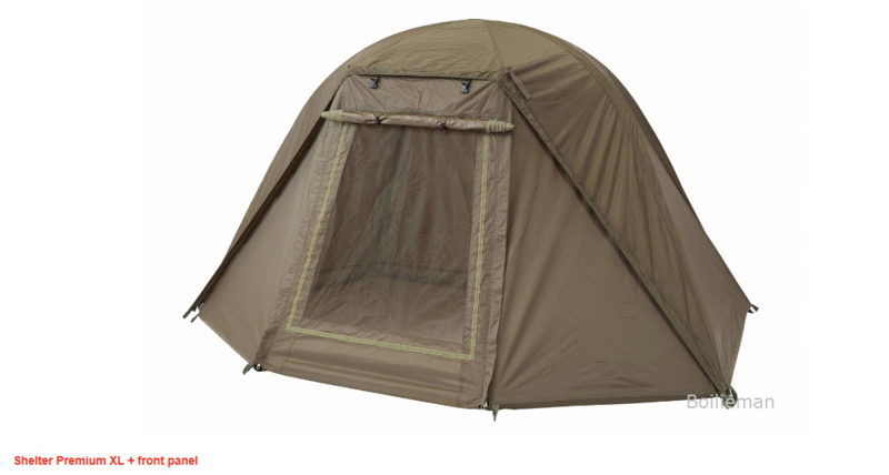 Shelter Premium XL incl. front panel