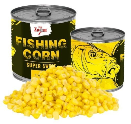 Carpzoom Fishing Corn Super Sweet 425ml